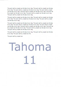 Tahoma-page coverage