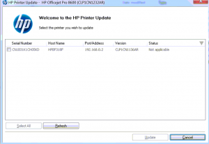 printer firmware update