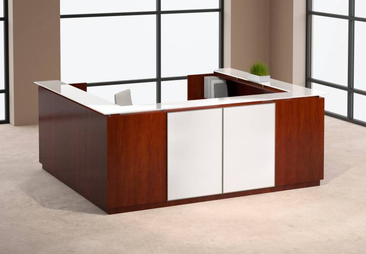 as the name suggests the reception desk plan is mainly suited to