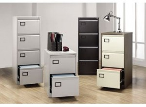 modern office filing cabinet
