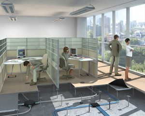choosing the right office space - indoors