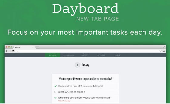 Dayboard-Chrome-Extension