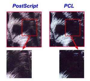pcl-and-postscript-output-quality