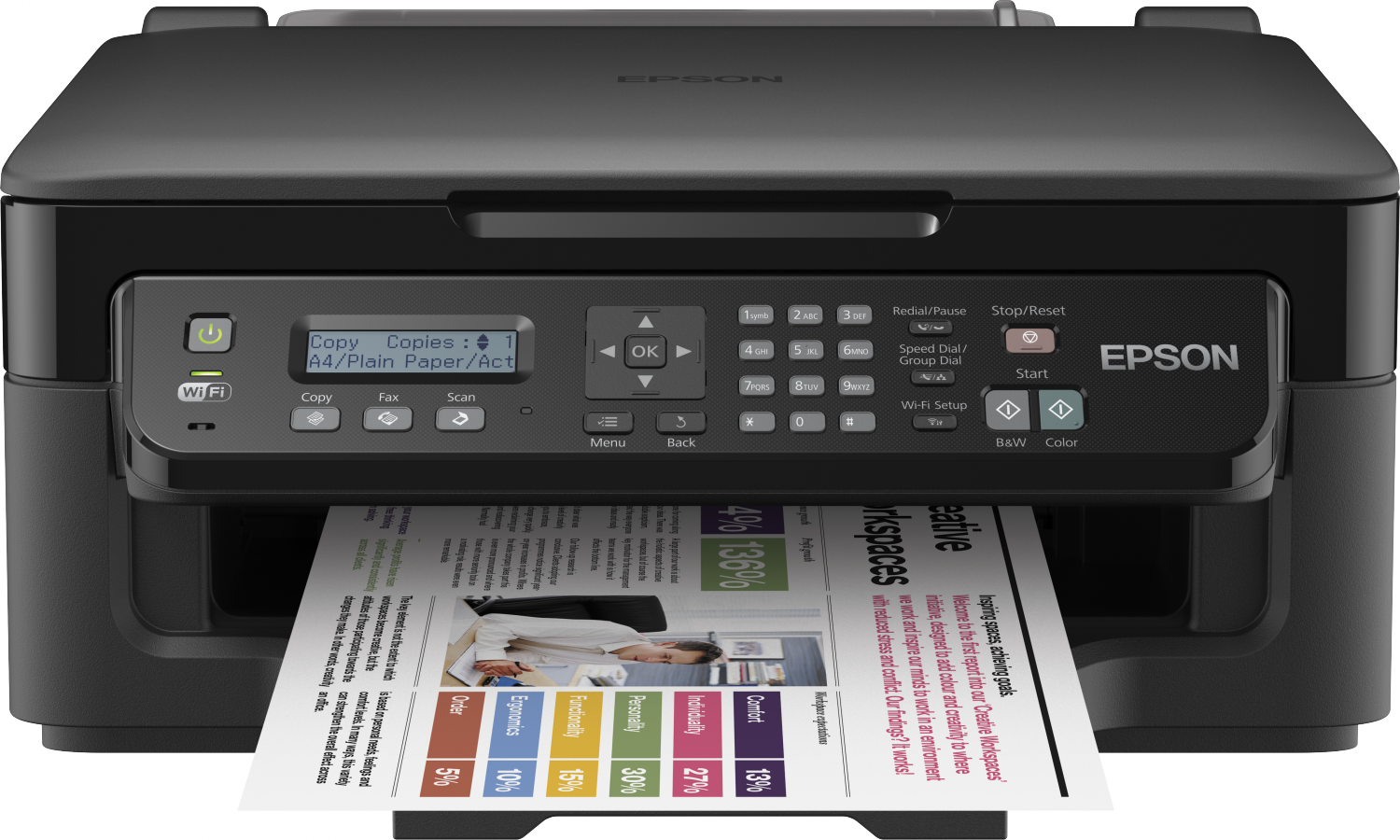 Epson WorkForce WF-2510 Review: Better Than Most Budget All-in-Ones
